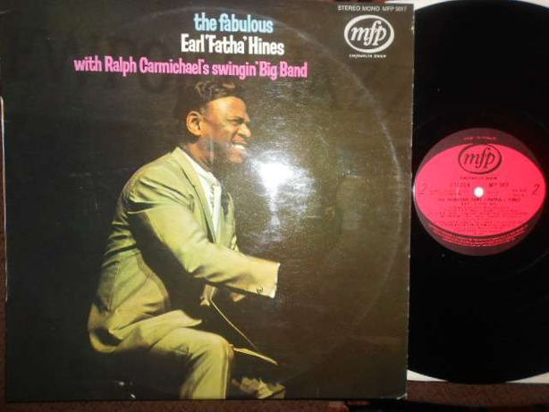 Lp JAZZ Earth Fatha Hines \ the fabulous 1963 пластинка винил vinyl