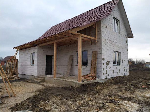Продам дом 116м^ Погребы,5км от Киева, рассрочка ,обмен.