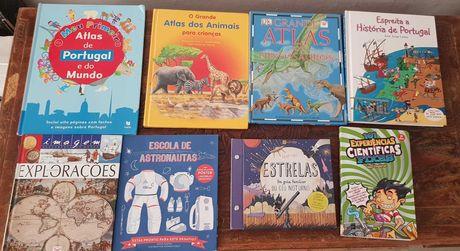Vendo livros novos e usados em bom estado
