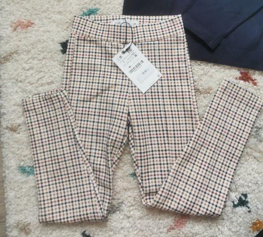 Spodnie legginsy dla dziewczynki rozmiar 122 cm Zara