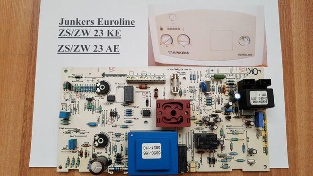 Płyta główna, sterownik Junkers Euroline ZS/ZW 23 KE, ZS/ZW 23 AE