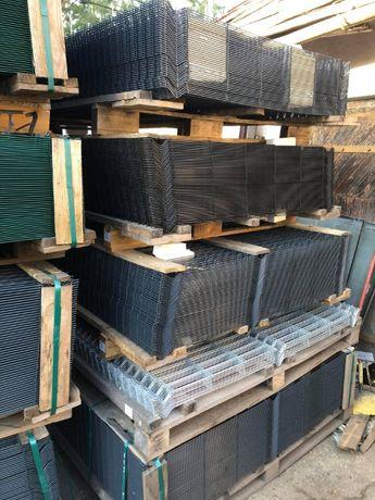 Panele Ogrodzeniowe 153 / 250 /4mm , 5mm Słupki /podmurówka