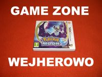 Pokemon Moon Nintendo 3DS + 2DS ! Wejherowo ! STEELBOOK