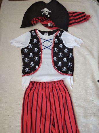 Пират 3-5 лет рост 110 см костюм карнавальный пирата моряк Джек