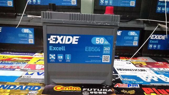 Akumulator Exide Excell EB504 50Ah 360A P+ Kraków Kia Hyundai CB504