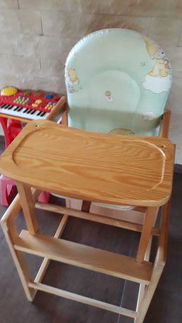 Krzeselko do karmienia, stolik dzieciecy
