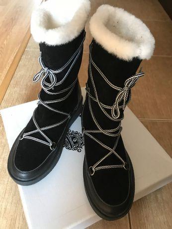 сапоги женские зимние
