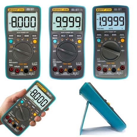 Мультиметр ZOTEK ZT301 ZT302 ZT303 тестер (RM302 RM302 RM303) ZOY