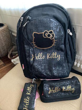 Hello Kitty - Mochila/Estojo/Carteira