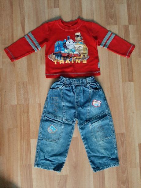 spodnie,bluzka rozmiar 92