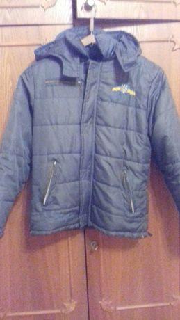 Весняна курточка на хлопчика 10-12років