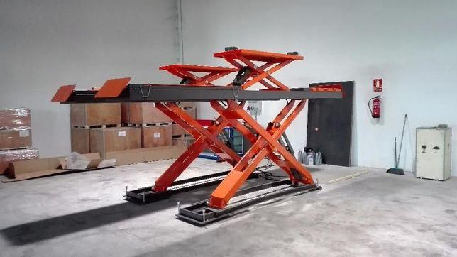 Elevador de Tesoura 4000kg - Alinhamento Direções