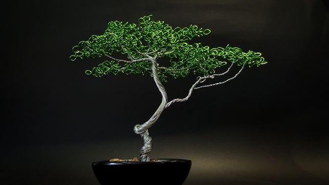 Fábio da Silva - Árvores de Arame - Wire Tree #13 / #14