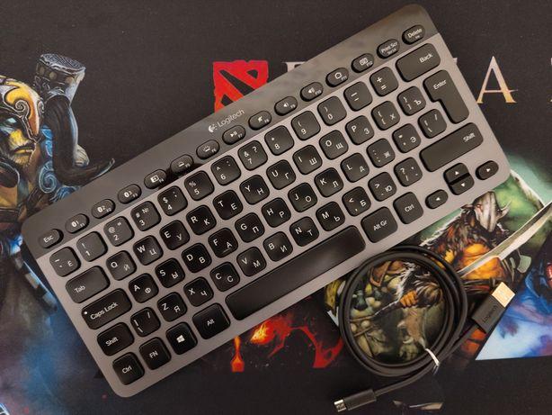 Клавіатура Logitech Bluetooth Illuminated Keyboard K810