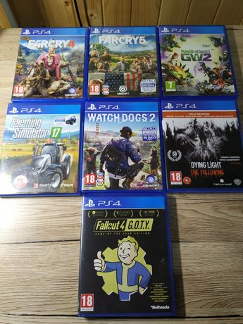 Gry na Play Station 4
