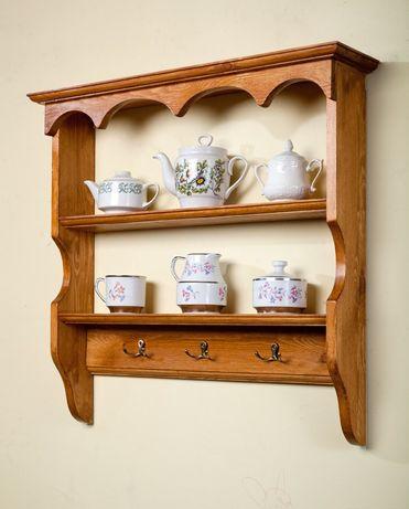 Półka kuchenna nowa wisząca rustykalna vintage