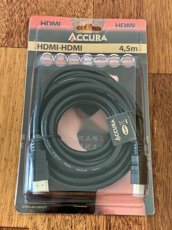 Nowy kabel hdmi - hdmi - 4,5m