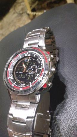 Часы Касио 100%оригинал с термометром и т.д.