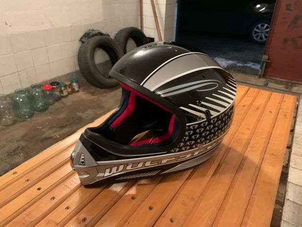 Продам шлем (мотокросс, байк)
