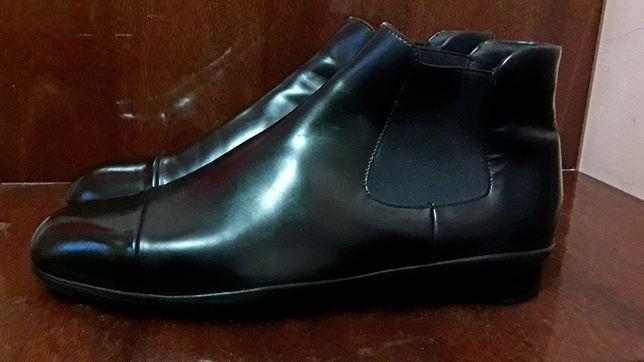 Prada 44- 45 Италия ориг. челси ботинки из влагостойкой кожи 29-29.5см
