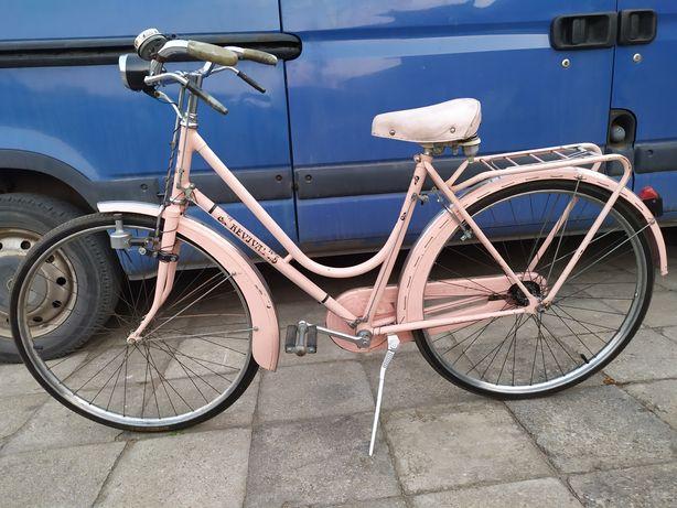 Stary włoski rower Revival , hamulce na cięgna