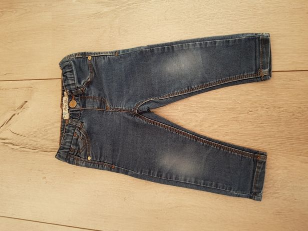 Spodnie rurki zara girl r.86