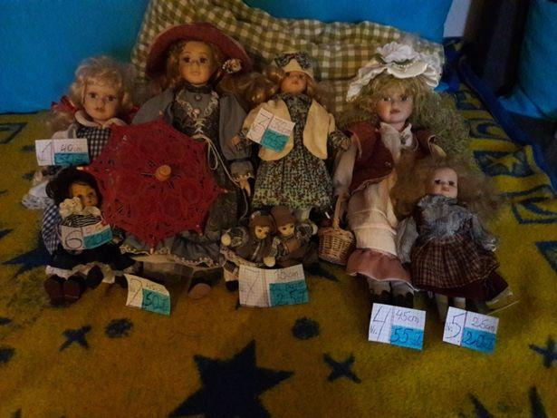 Porcelanowe lalki w bdb stanie