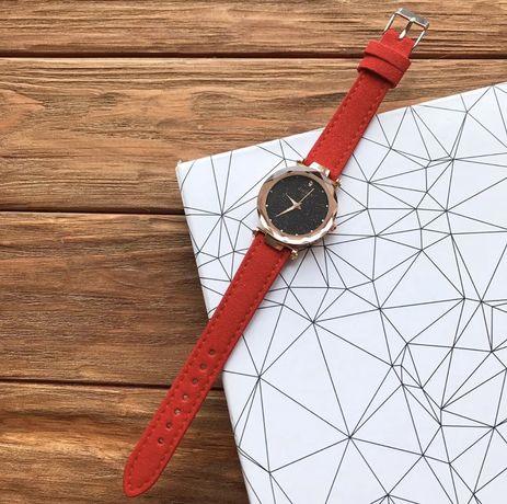 Годинник, часы, красные, червоні, нові, новые