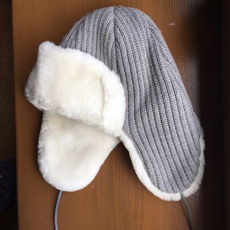 Дитяча зимова тепла шапка