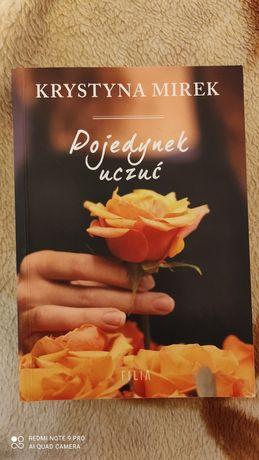 """,,Pojedynek uczuć"""" Krystyna Mirek"""
