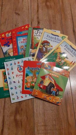 Króciutkie książeczki do przeczytania dla przedszkolaka