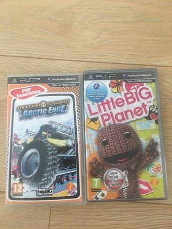 PSP gra Little Big Planet Motor Storm Arctic Edg