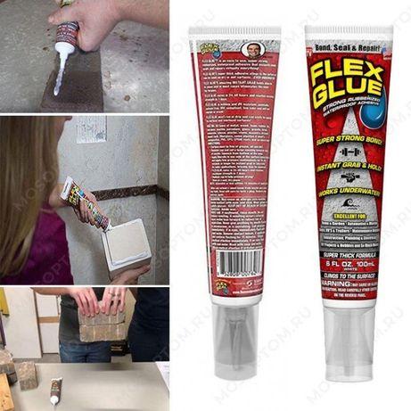 Flex Glue Original Универсальный водонепроницаемый клей сильной фиксац