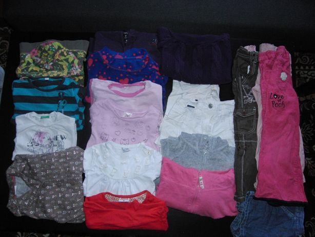 Ubrania dla dziewczynki  98/104 OKAZJA markowe !!szt19