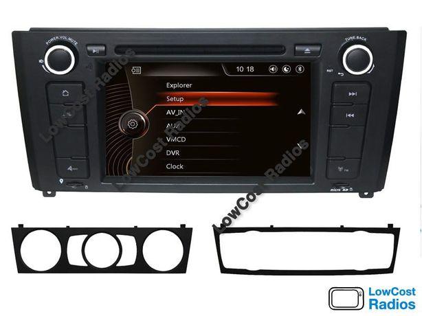 Auto Rádio GPS BMW Série 1 - E81/E82/E87/E88 (2004 a 2011) - STOCK