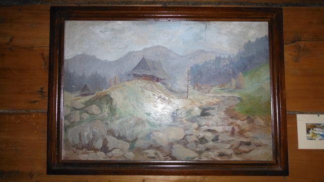 Obraz olejny Józef Franke .