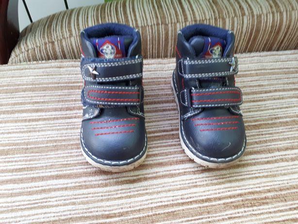 Buty chłopięce botki