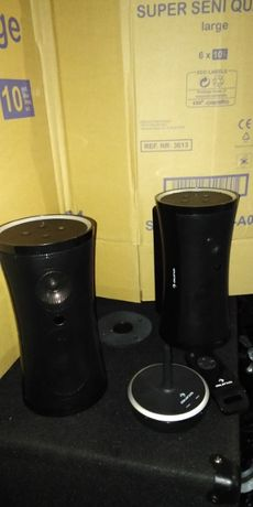 Głośniki bezprzewodowe przenośne radiowe 2 sztuki komplet AUNA