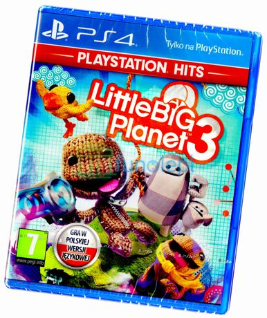 Little Big Planet 3 PS4 PL DUBBING NOWA Pudełkowa