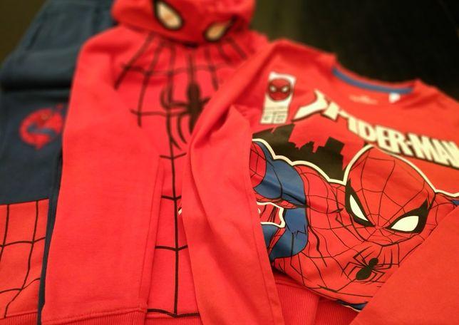 Fato treino Spiderman e sweat - 8 anos