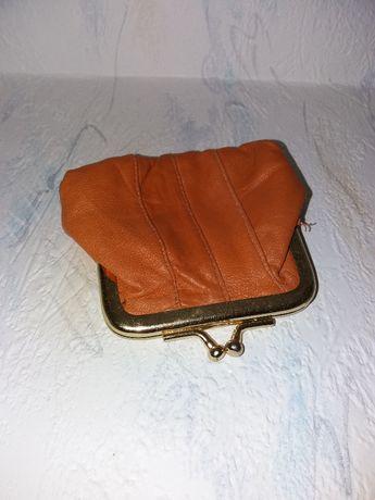 Кошелек/гаманець кожаный