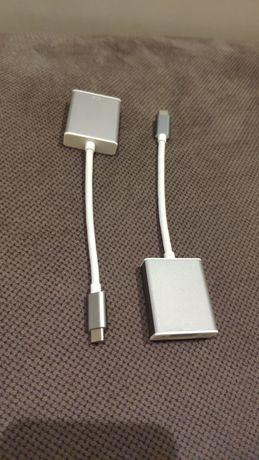Adaptery USB-C - HDMI, VGA