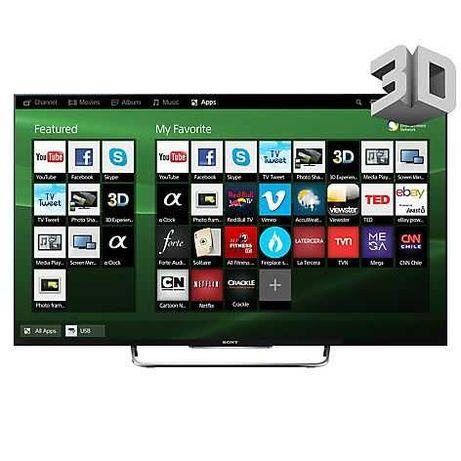 Sony Smart TV 3D LED wi-fi direto (102 cm)