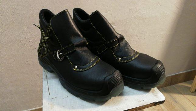 Buty czarne skórzane