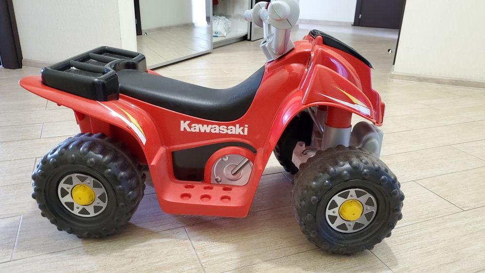 Детский квадроцикл Kawasaki Fisher Price power wheels Киев - изображение 1