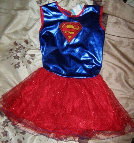Детский карнавальный костюм Supergirl Супергёрл на девочку