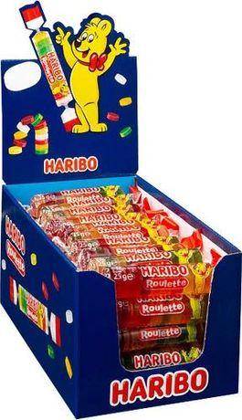 Жувальні цукерки Haribo Roulette 50 шт х 25 г
