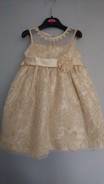 Piekna sukienka Cindarella roz 92