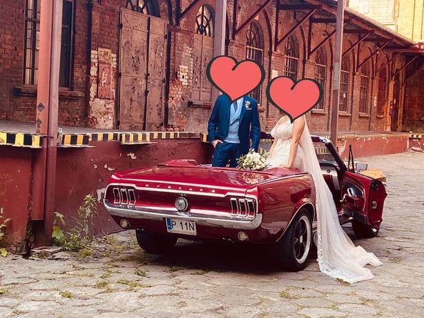 Ford mustang 67 cabrio do ślubu