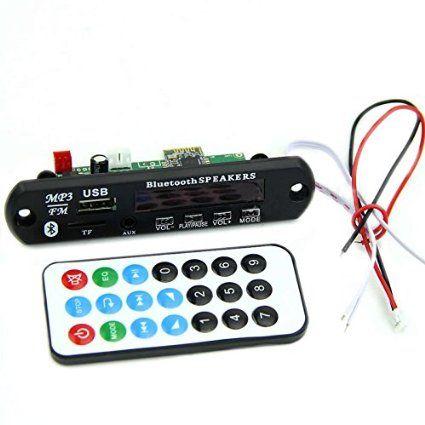 MP3 FM проигрыватель (встраиваемая панель)